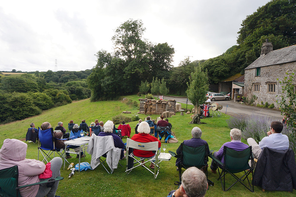 Outdoor theatre with NorthSouth Pals at Pengenna Manor event venue in Cornwall 05.jpg
