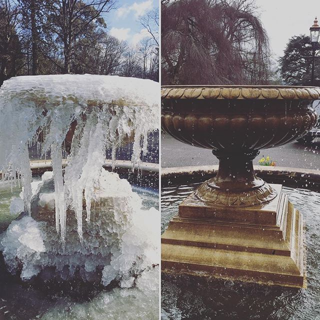 Great to be back again @deerparkcountryhousehotel for the 2019 @wedmeetupuk, and what difference a year makes - this time last year we were frozen and worried about getting snowed in! Already a great start to the day with talks by @wildtipi_sam and @bridemagazineofficial. Can't wait for this afternoon! . . . #PengennaManor #Pengenna #wedding #weddings #weddingvenue #events #eventvenue #historic #private #countryhouse #Wadebridge #Cornwall #imengaged #gettingmarried2019 #gettingmarried2020 #justengaged #gettingmarried #bridetobe #weddingplanning #bride #groom #southwestwedmeetup #fountain #frozen #ice #oneyearon
