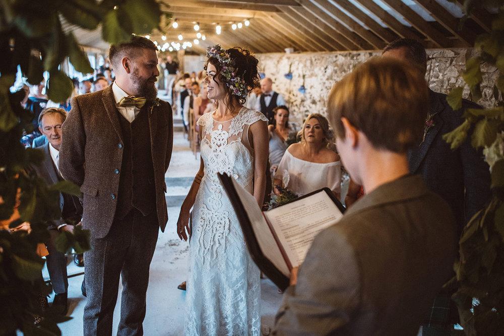 Real wedding at Pengenna Manor in Cornwall wedding venue Leigh-Anne & Jason 12.jpg