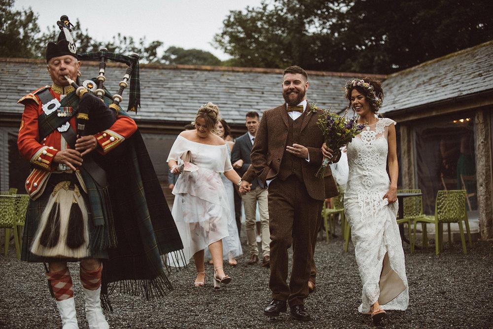Real wedding at Pengenna Manor in Cornwall wedding venue Leigh-Anne & Jason 13.jpg
