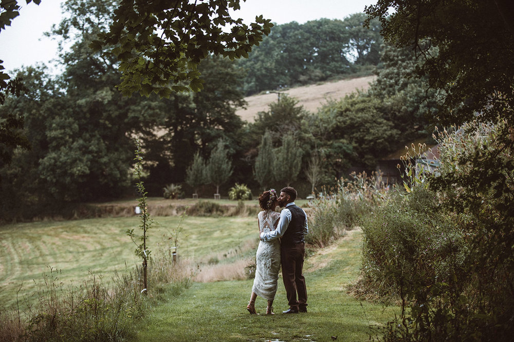 Real wedding at Pengenna Manor in Cornwall wedding venue Leigh-Anne & Jason 17.jpg
