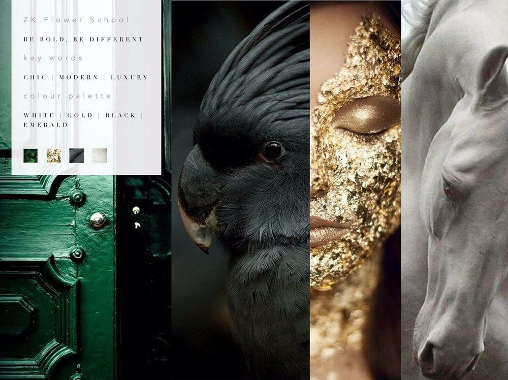 Flower school mood board zavion kotze