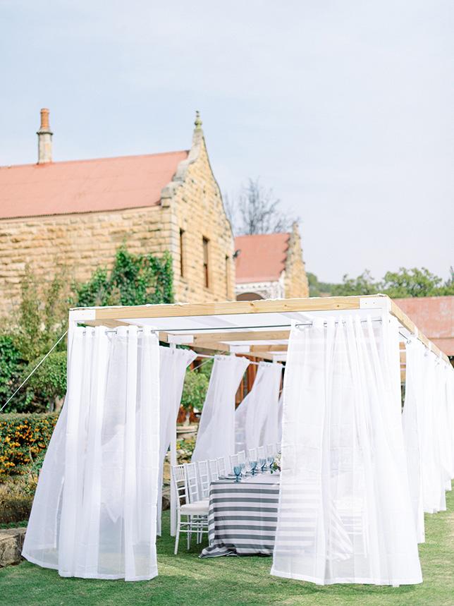 garden wedding free state
