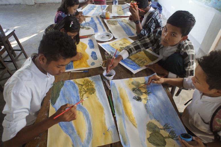 School art competition Mangrove