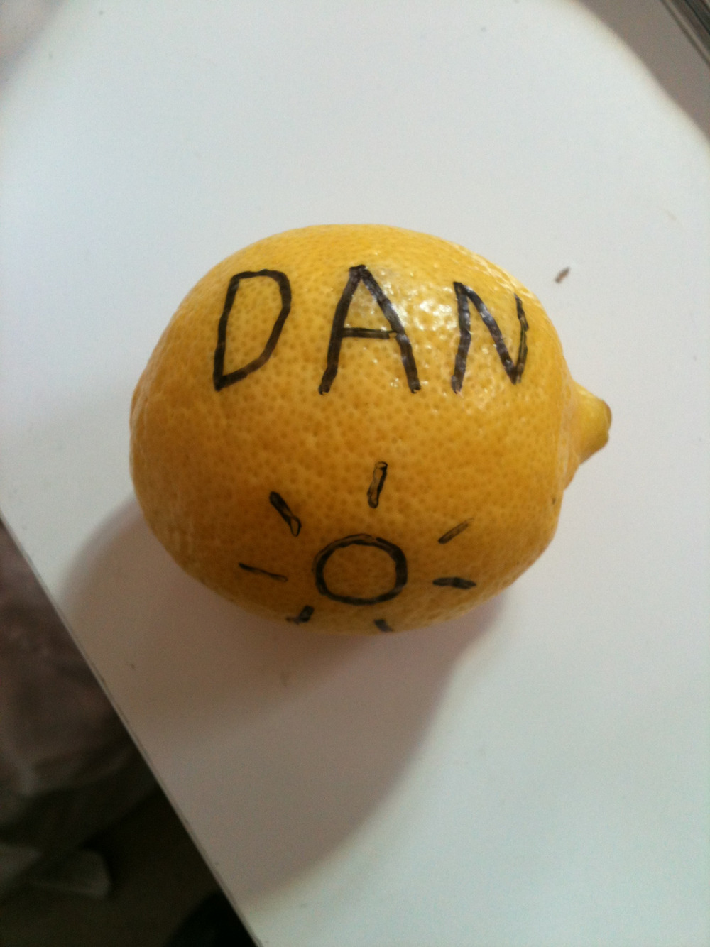 Tash is taking this drawing on fruit thing to a whole new level…