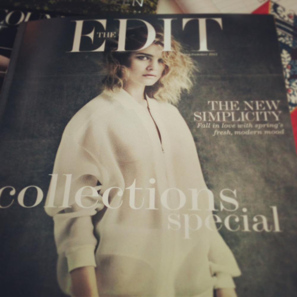 Today's fashion fix comes from Net-A-Porter's new magazine that has made it's way into the office…it's kind of a big deal.