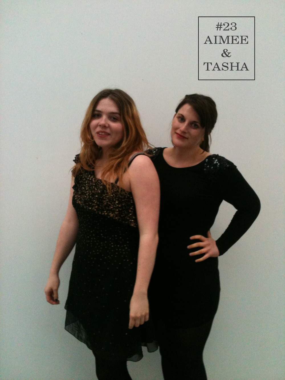 Christmas is fast approaching and here at Folk Tasha and Aimee get into the festive spirit with the help of a few sequins. In black and gold dresses they are ready to sparkle on into 2013 (Mayan apocalypses aside of course).  Tasha Dress: Miss Selfridge Aimee Dress: Topshop