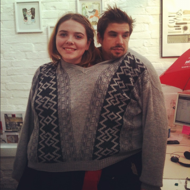 Tash and Tom test the theory two designer heads are better than one. They also test the theory one jumper is better than two.