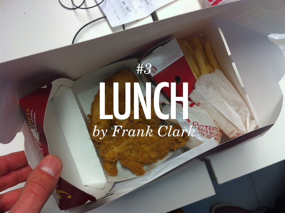 If there's one thing a developer like Frank needs it's brain food to plough through hours of coding. A stomach full of KFC appears to be the weapon of choice amongst the tech team at Folk to fuel their digital craft.