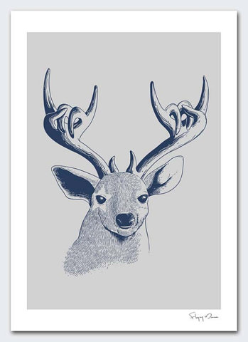 (via FFFFOUND! | DEEROCK by flyingmouse365 on Etsy)
