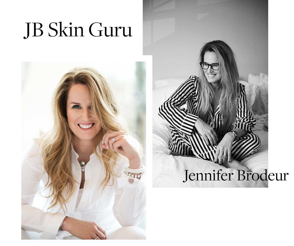 Jennifer Brodeur alias. JB Skin Guru