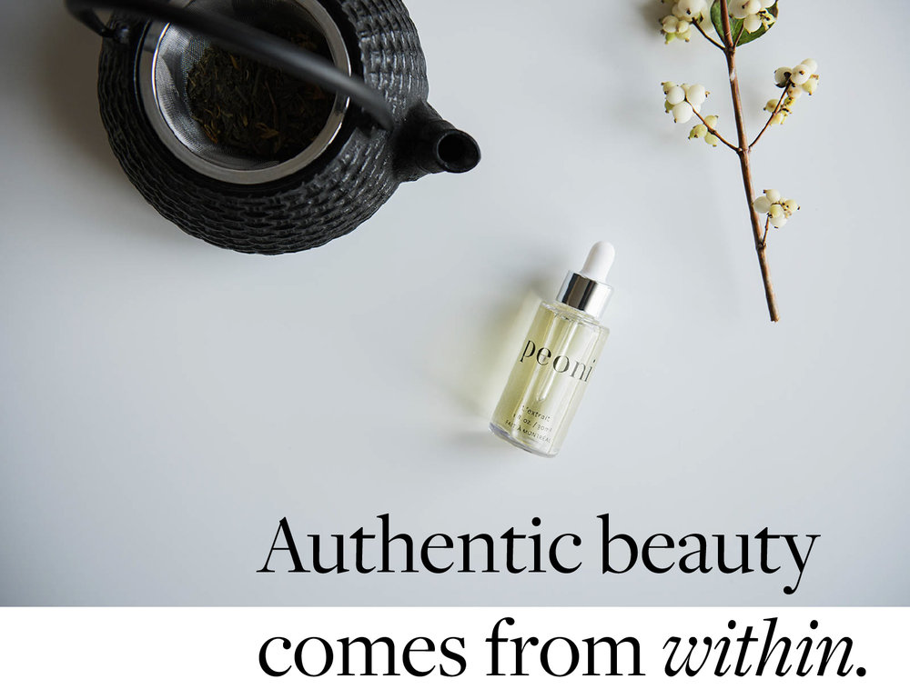 Authentic beauty comes from within