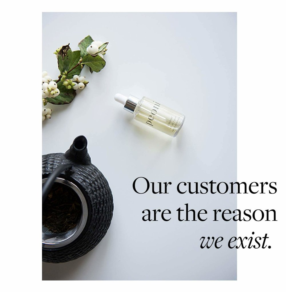 Our customers are the reason we exist.