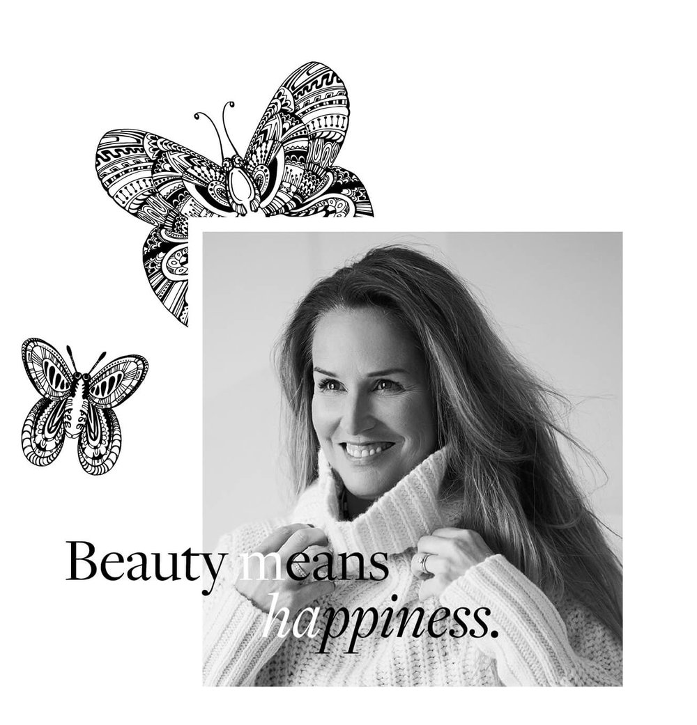 Beauty means happiness