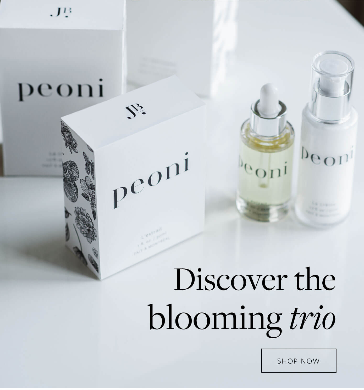 Discover the blooming trio