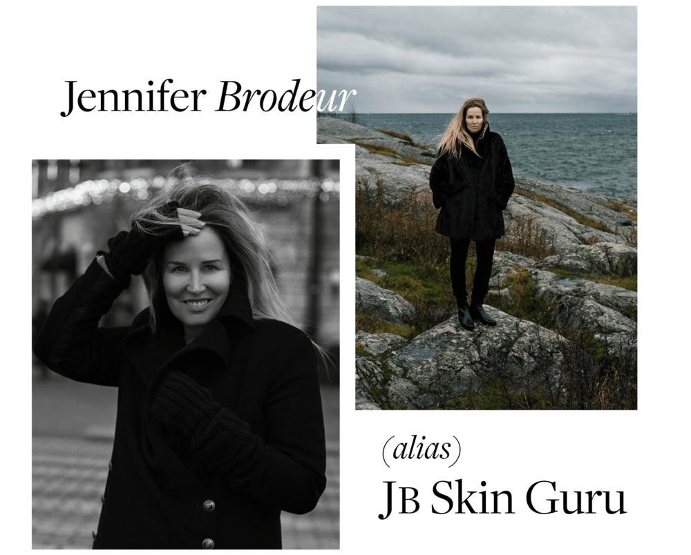 Jennifer Brodeur, alias JB Skin Guru, fondatrice et PDG.