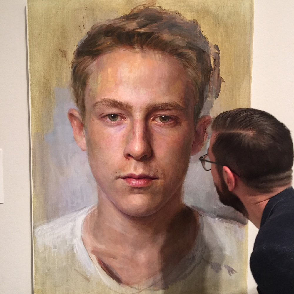 BP Portrait Award 2016 Jean-Paul Tibbles