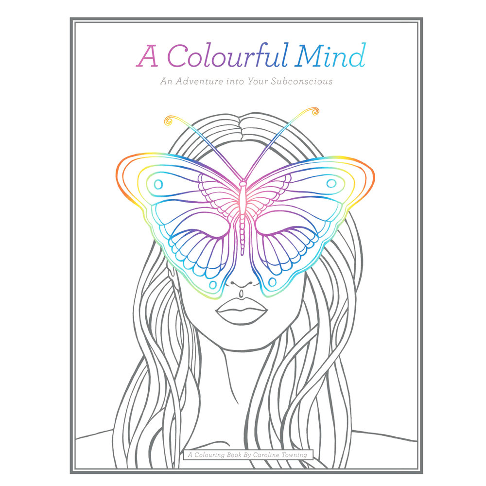 Colouring Book | A Colourful Mind | Adult Colouring | Meet The Makers