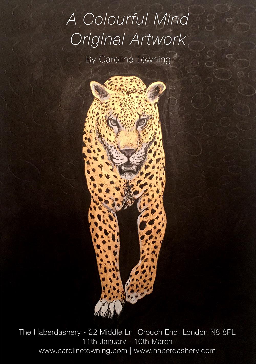 Leopard Caroline Towning Exhibition