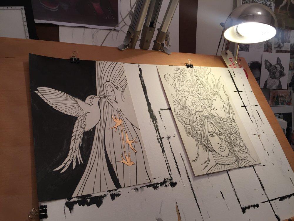 Drawing Board Caroline Towning