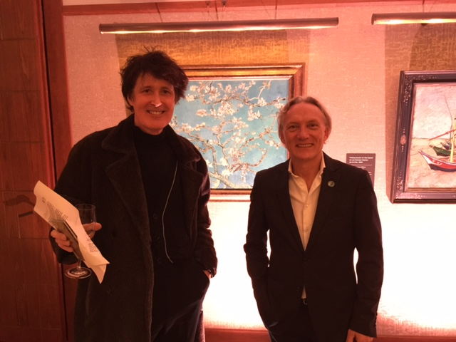 Simon Gargette and Vincent Willem van Gogh