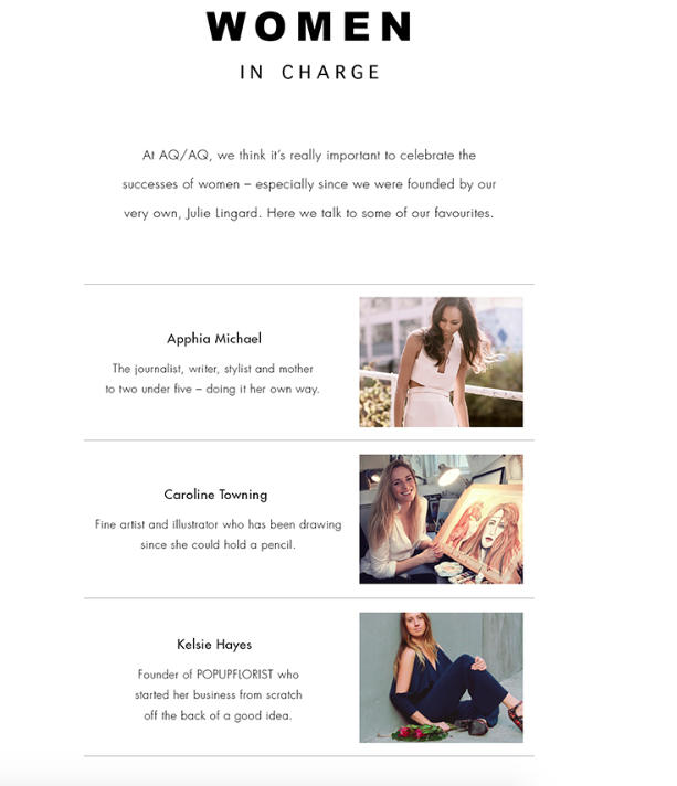 Woman In Charge | Girl Boss | Collaboration | London