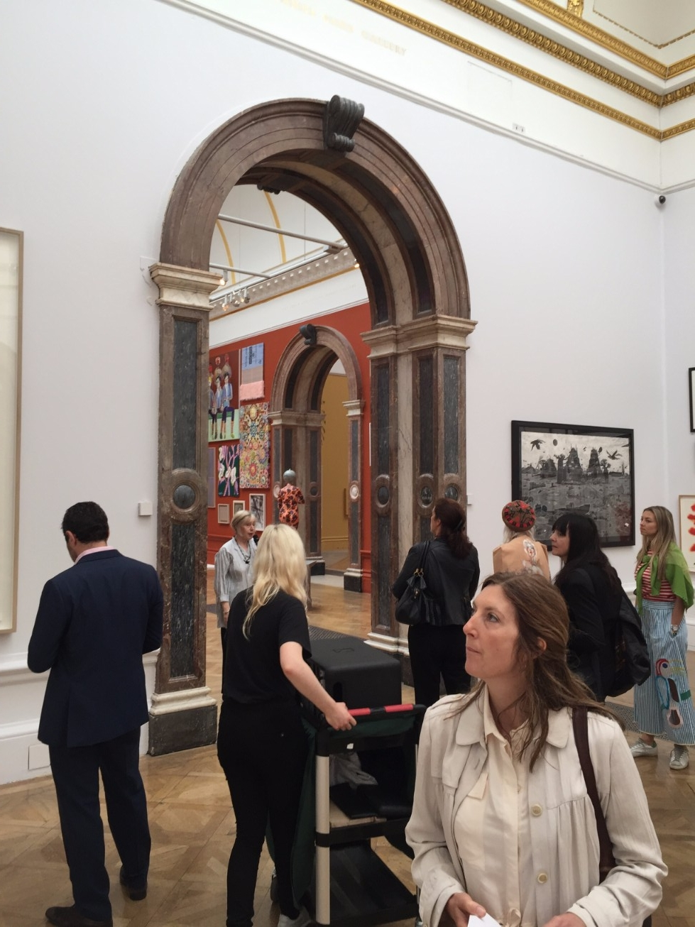 Private View Royal Academy Summer Show