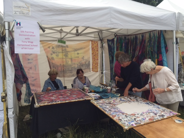 The Hampstead Art Fair | White Stone Pond | Hampstead