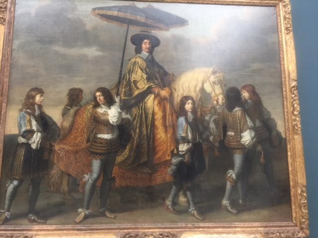 Visiting The Louvre, Paris