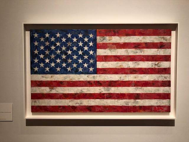jasper johns the royal academy american flag