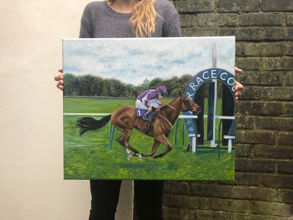 Horse Racing Art | Art Commissions | Equine Art