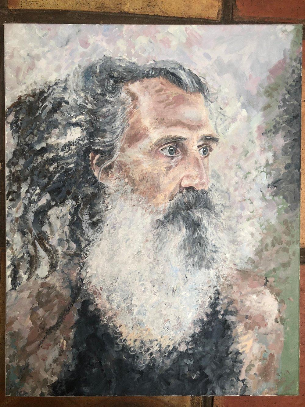 Stewart Gilchrist | Yoga Art | Portrait Artist | Portrait Painting