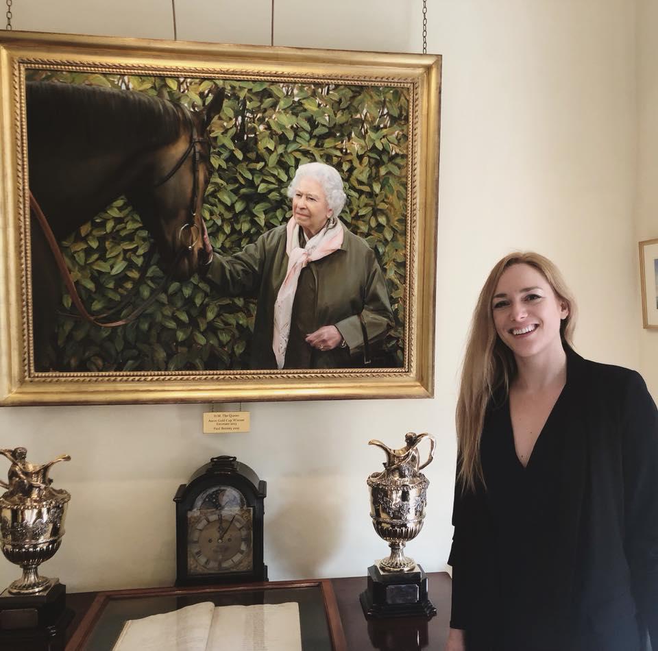 The Jockey Club | Bob Champion | Horse Racing Art