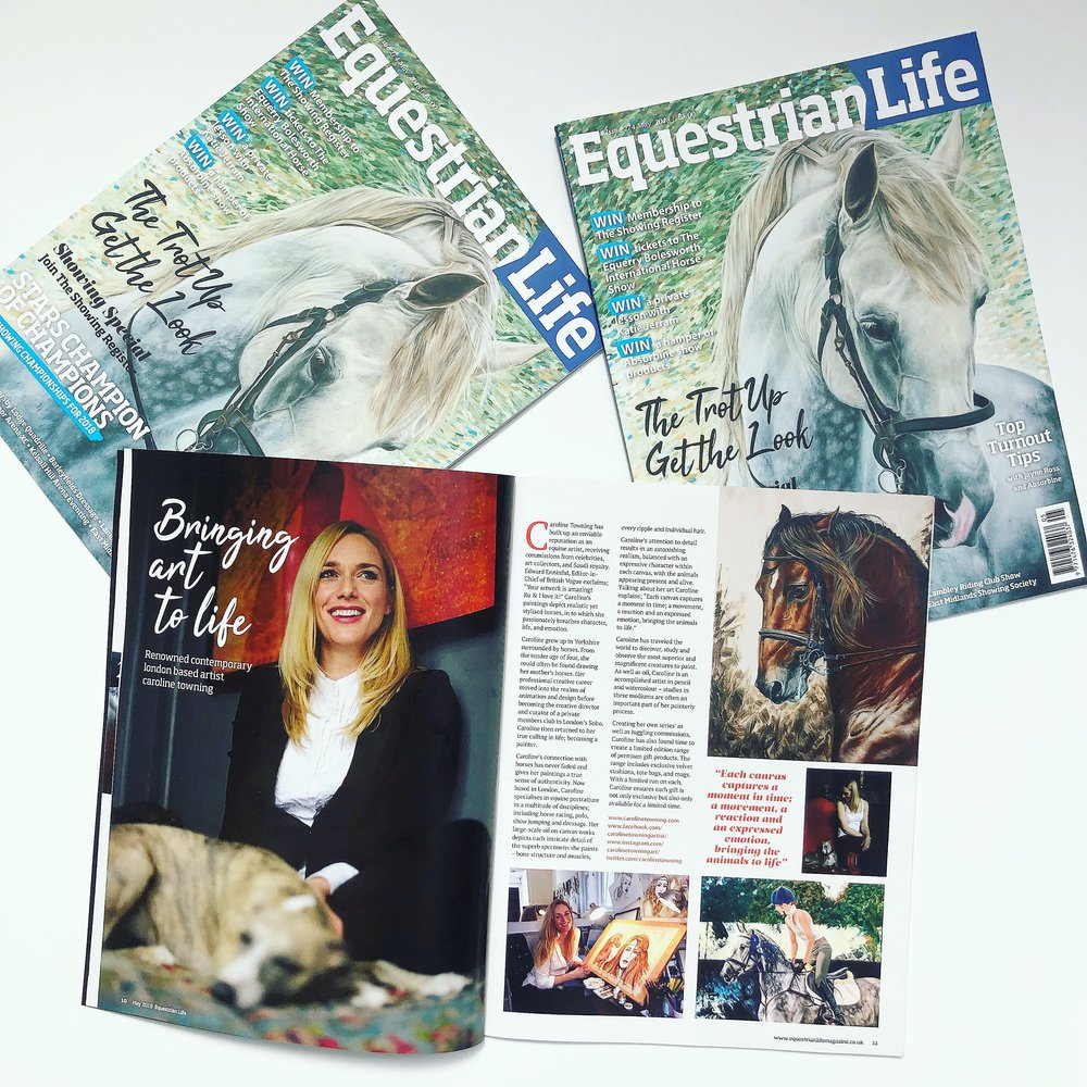 Equestrian Life | Horse Painting Artist | Horse Art