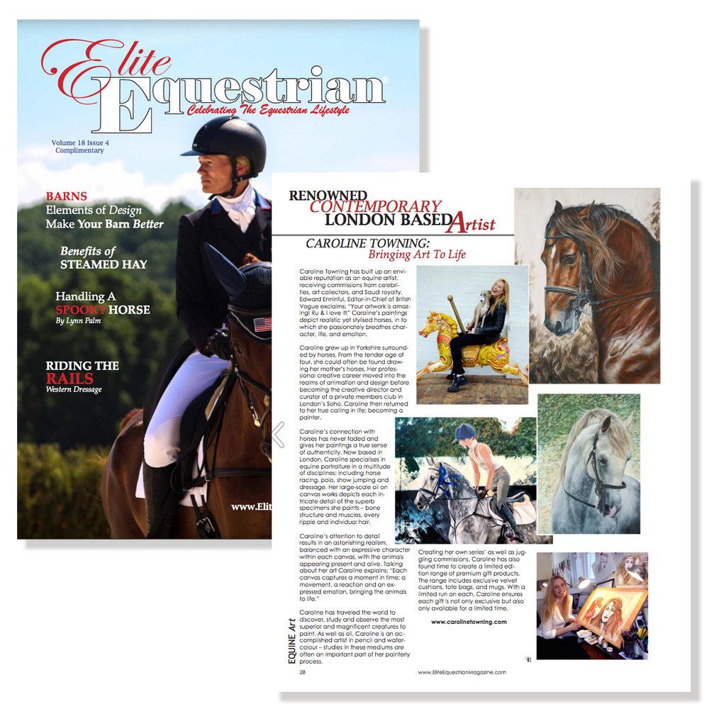 elite equestrian | horse art