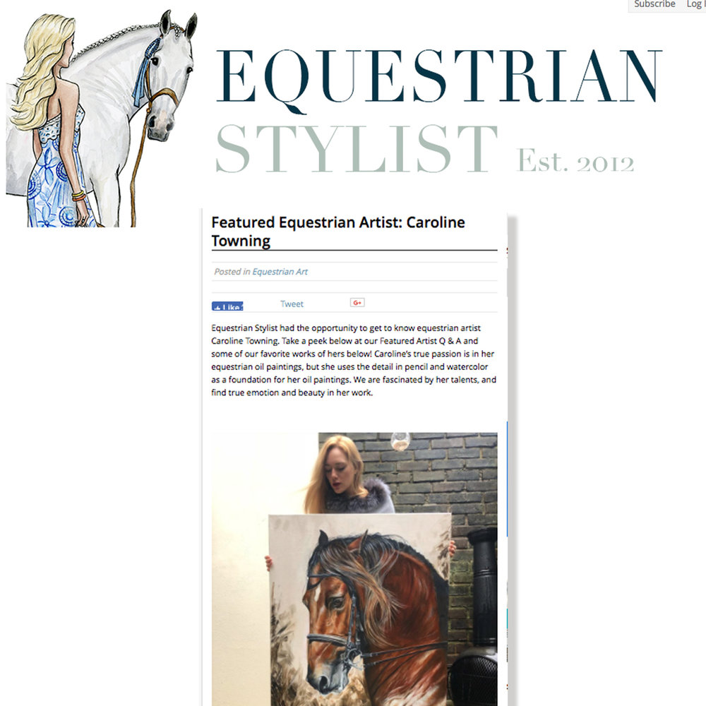 Equestrian Stylist Blog
