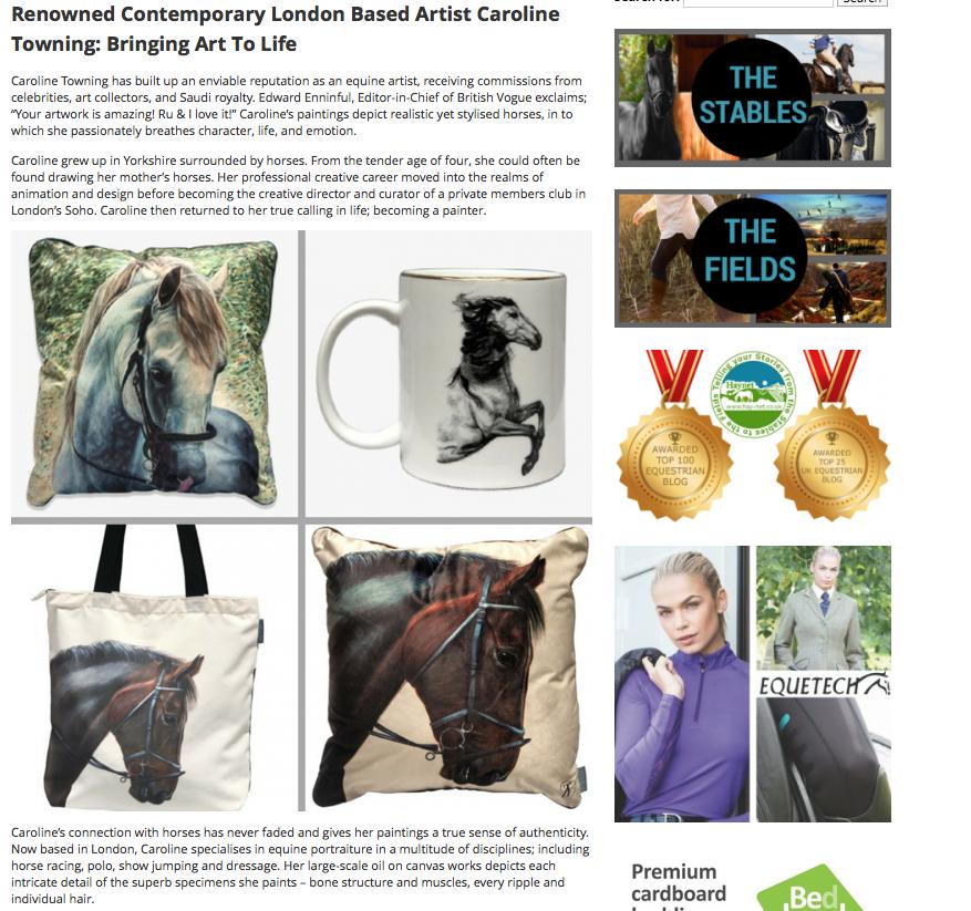 Haynet Blog | Horse Art | Press