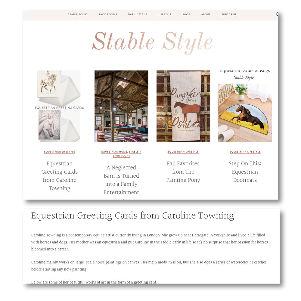 Stable Style Blog