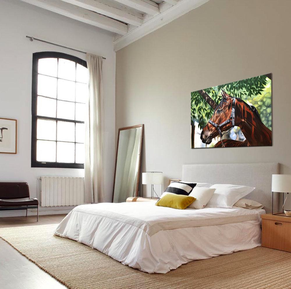 Horse Art- Actual Size