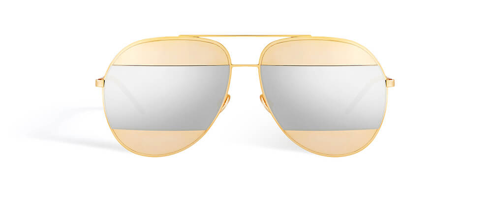 Gold-tone-metal-inserts-with-silver-mirrored-lenses