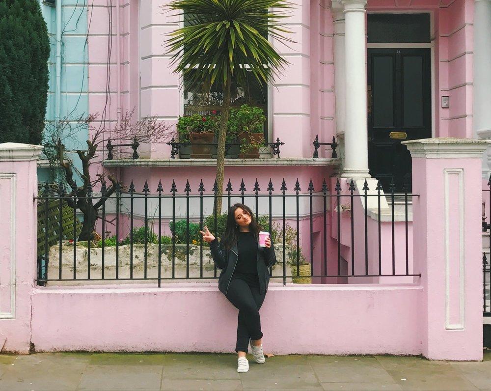 Pink Instagram Hotspots in London -