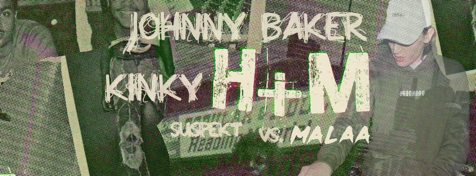 Kinky H+M (JOHNNY BAKER MASHUP) [EXTENDED VERSION]
