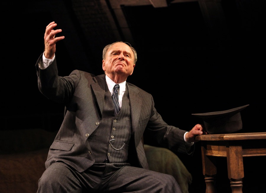 **Harris Yulin as Willy Loman in the Gate Theatre productiond of 'Death of a Salesman' by Arthur Miller. Photo Anthony Woods..jpg