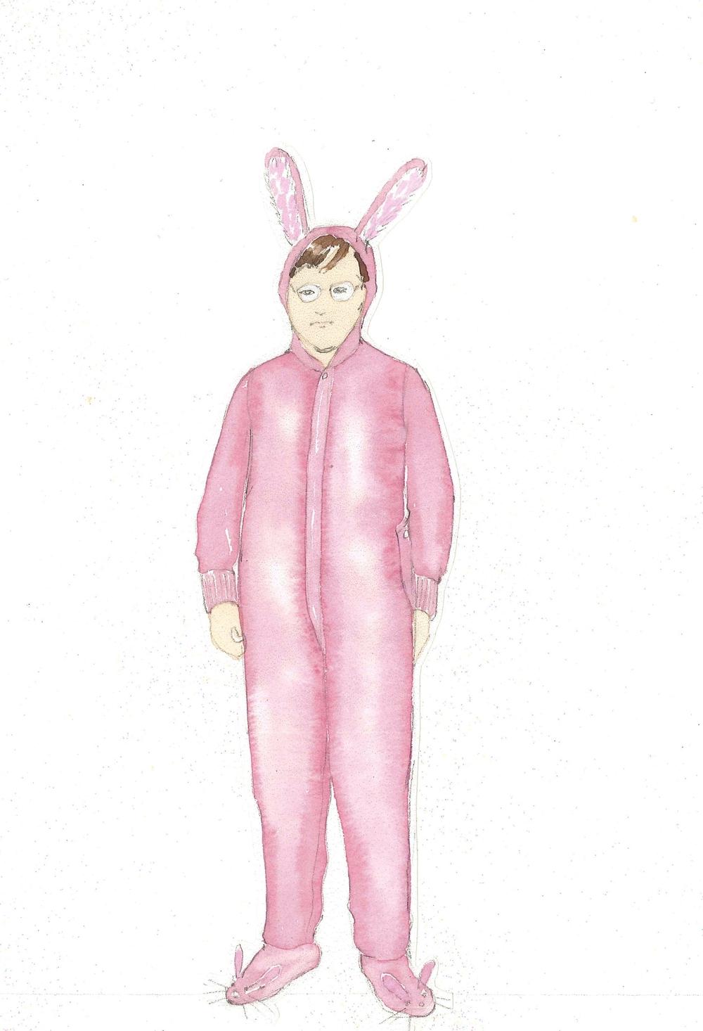 Ralphie's Bunny Suit