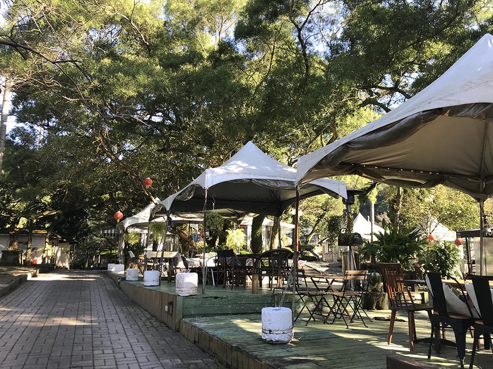 小帳蓬區 - 體驗開放式美式饗宴