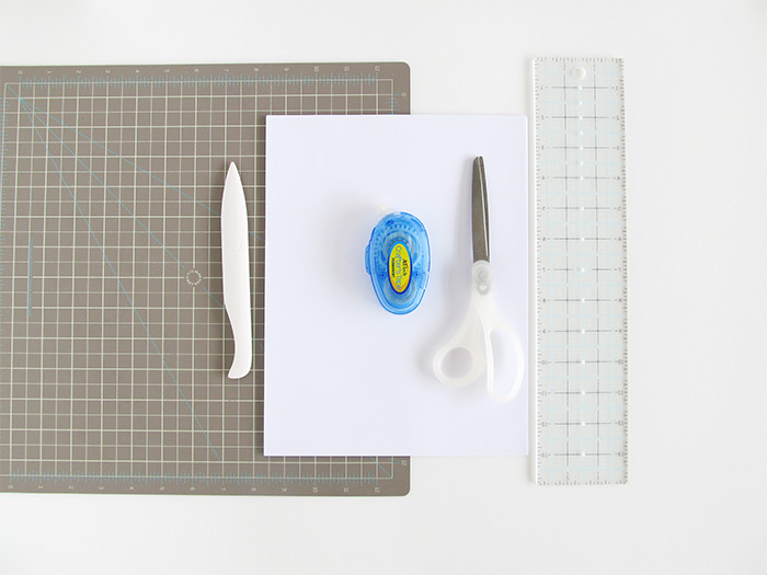 Paper Bag Tutorial Materials