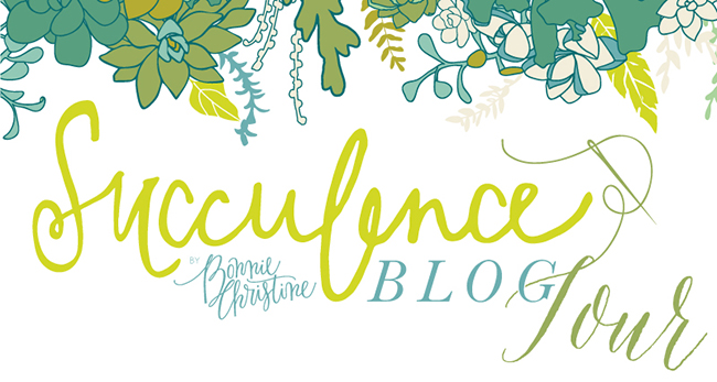 Succulence blog tour by bonnie christine