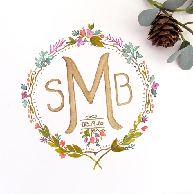 watercolormonogram