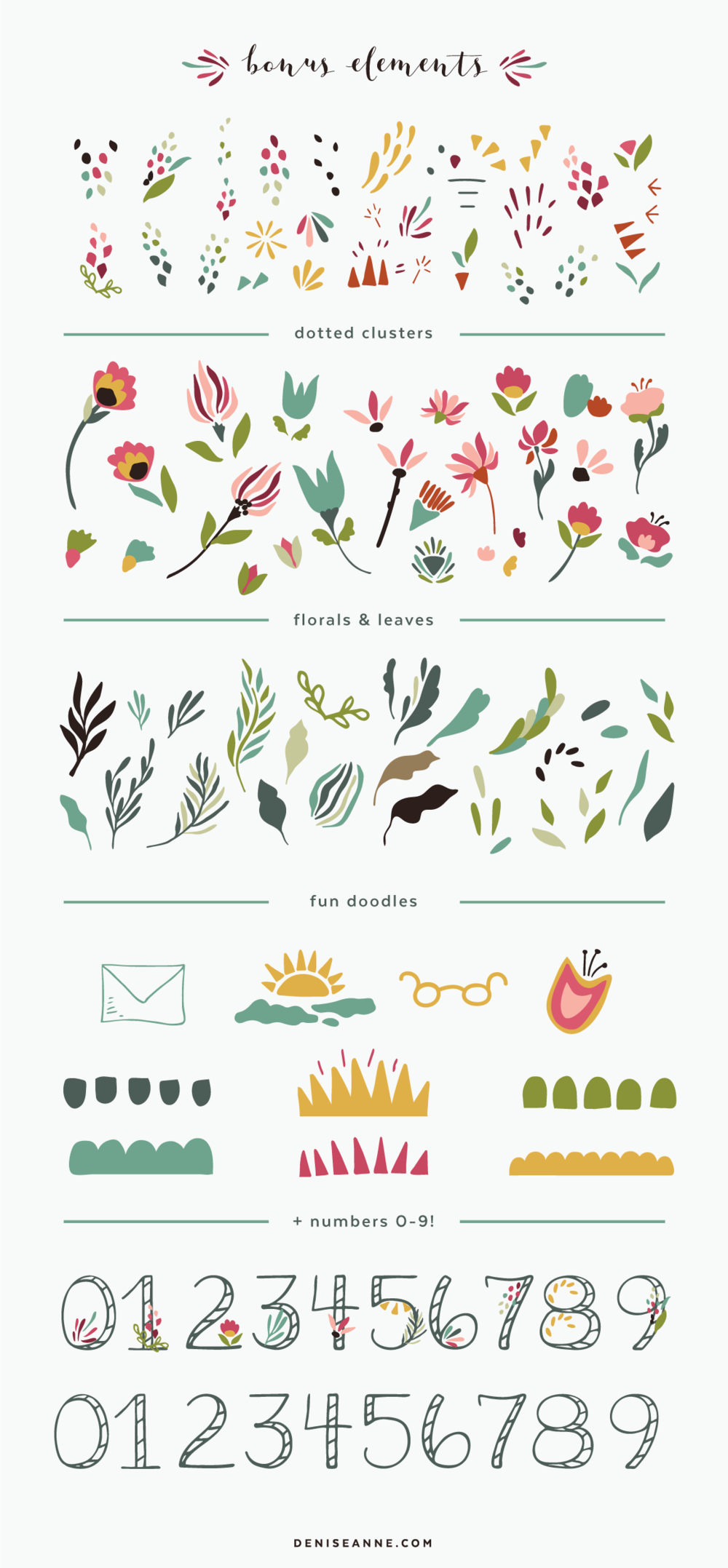 floral-clip-art-and-doodle-elements