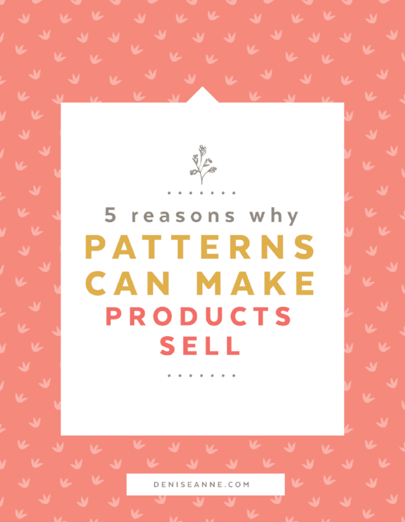 Have you ever thought about the patterns you buy, and the reasons you are drawn to them? I have, because I am a bit obsessed with patterns. There is something magical about them. They have power. Click to read the full post.